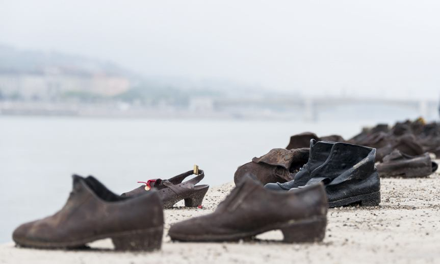 shoes on the danube budapest 2