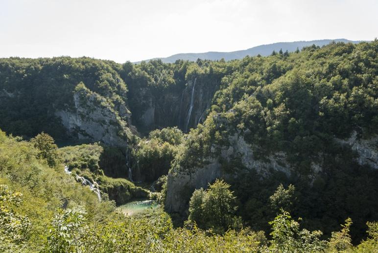croatia plitvice panorama