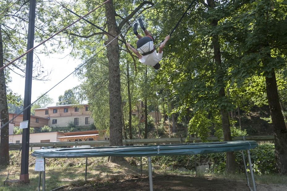 nick bungee trampoline backflip