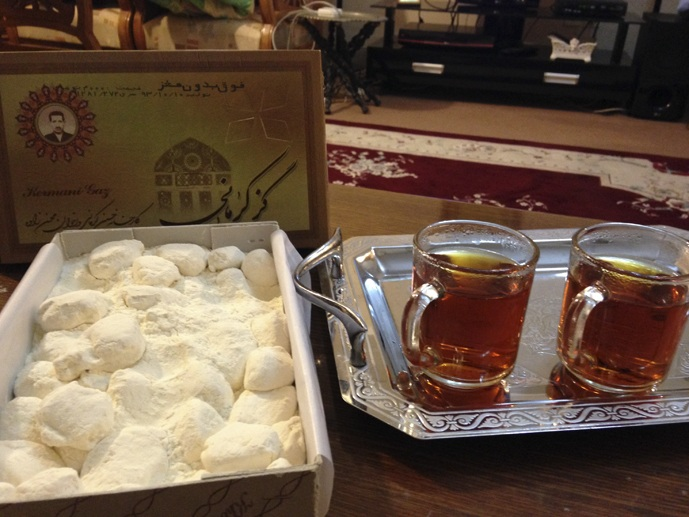 sweets tea isfahan