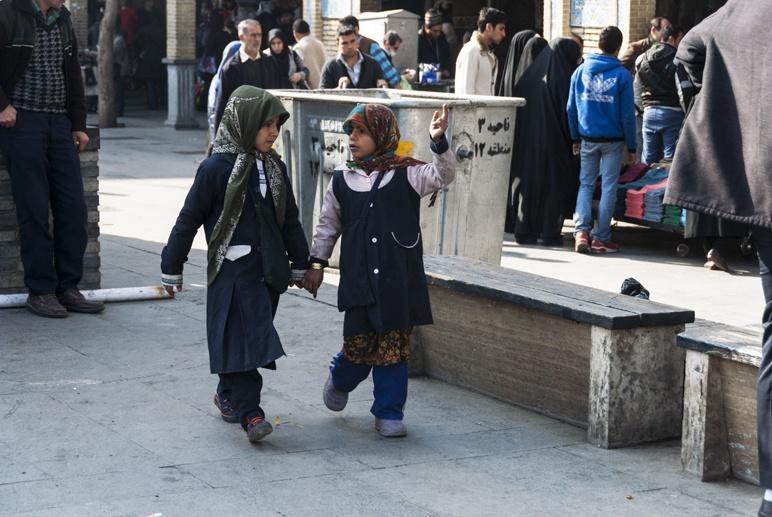 tehran iran girls street