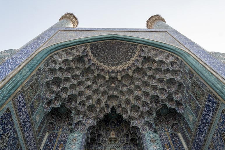 imam mosque iwan