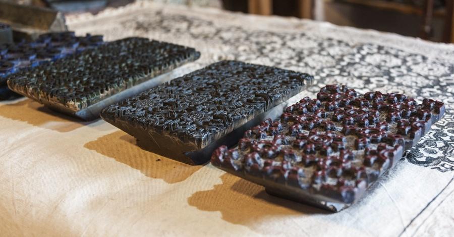 isfahan bazaar block prints