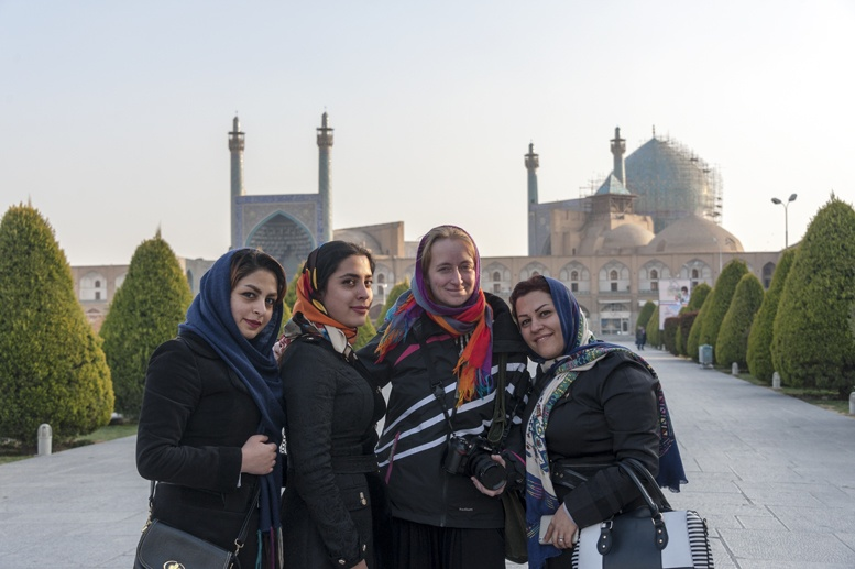 people of isfahan ladies