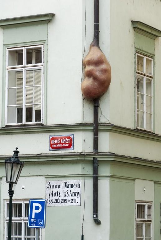 prague david cerny fetus