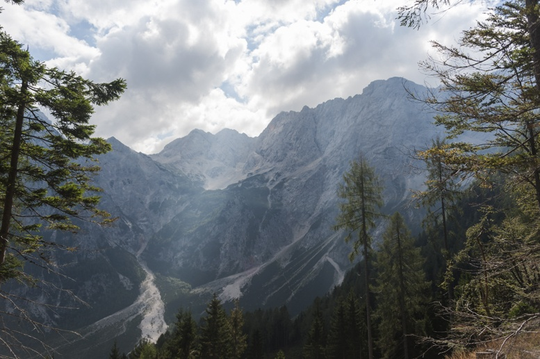 hiking slovenia kamnik alps