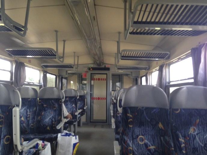 czech train inside