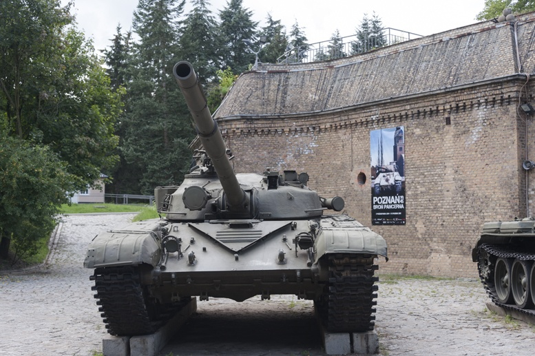 poznan cytadela tanks
