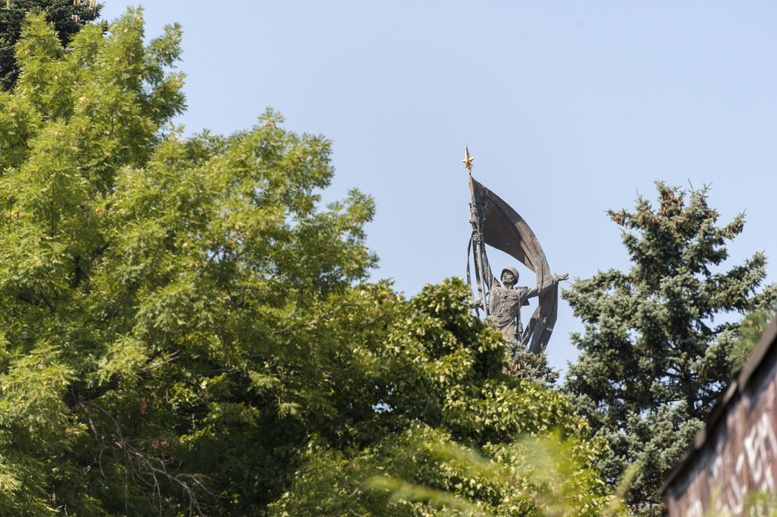 slavin statue bratislava