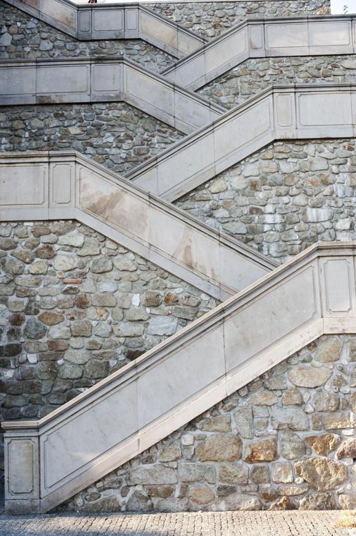 bratislava castle staircase