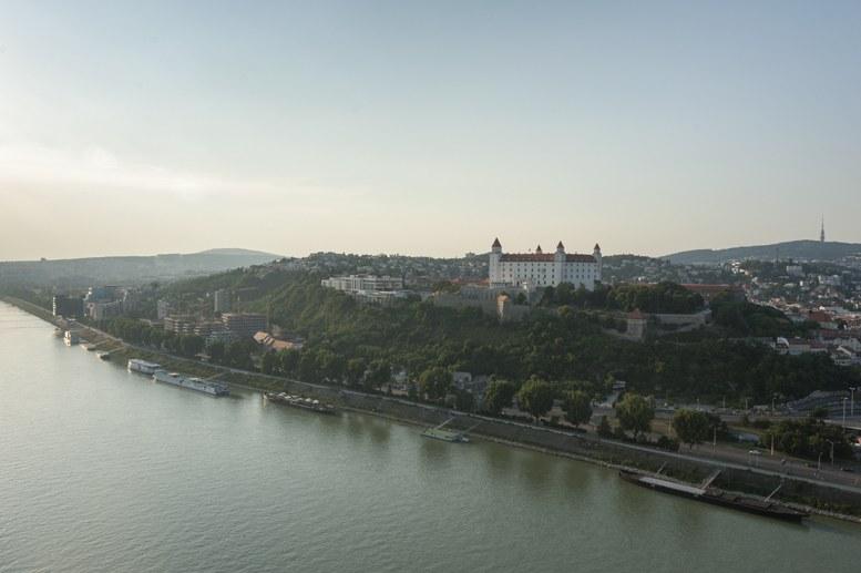 bratislava castle danube