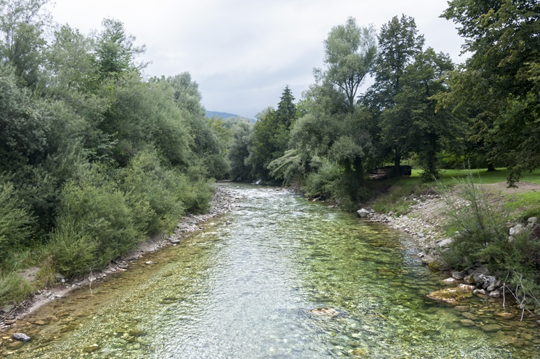 ljubno slovenia savinij river