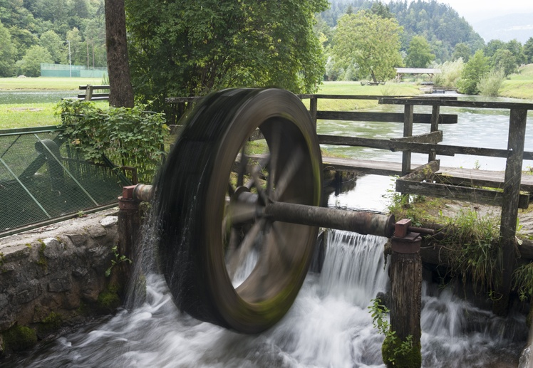 ljubno slovenia water mill