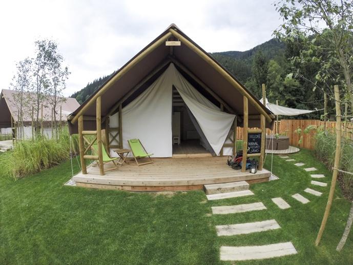 charming slovenia tent