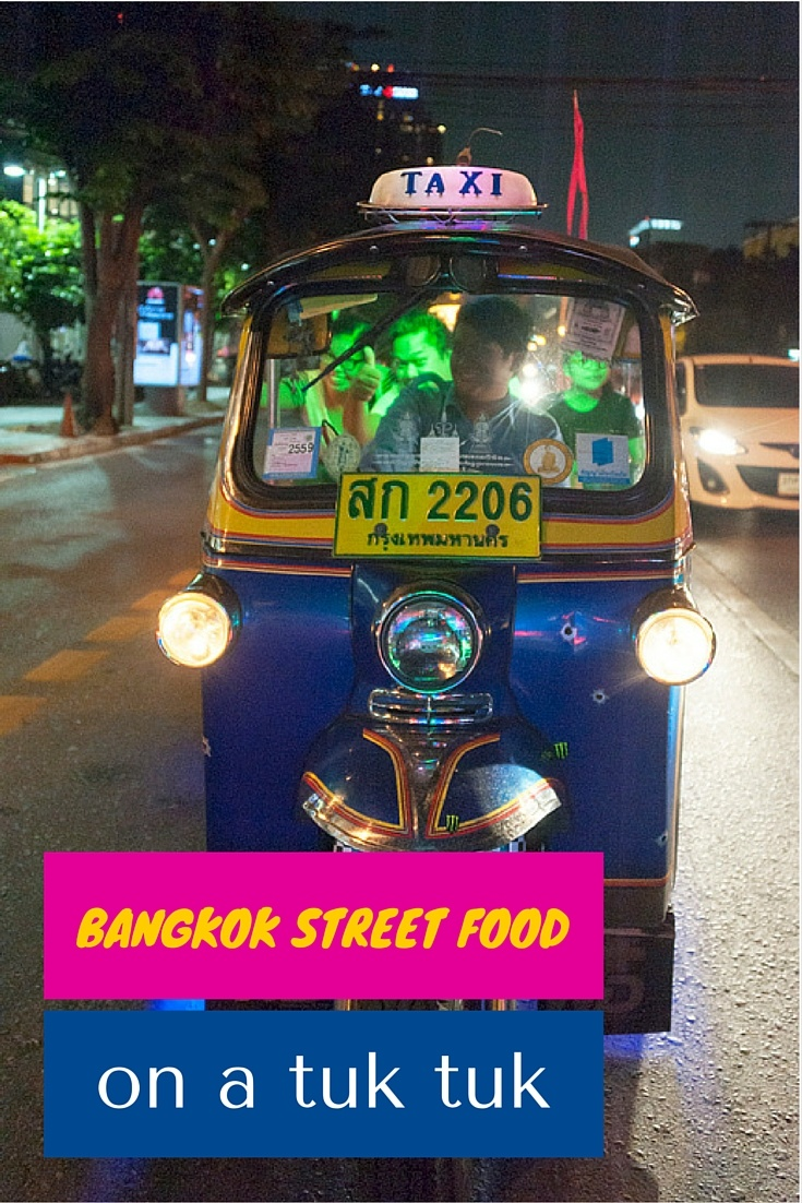 Bangkok street food pin