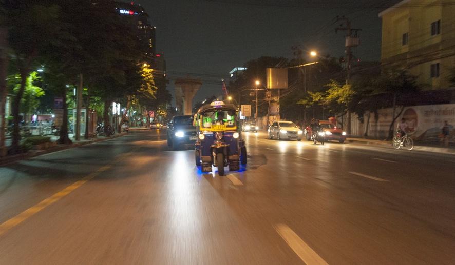 Bangkok street food Tuk Tuk