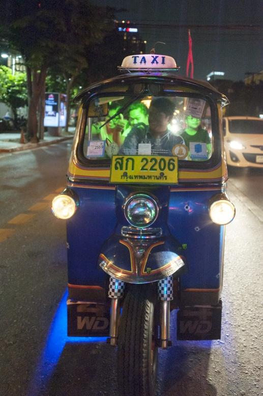 Bangkok Tuk Tuk blue