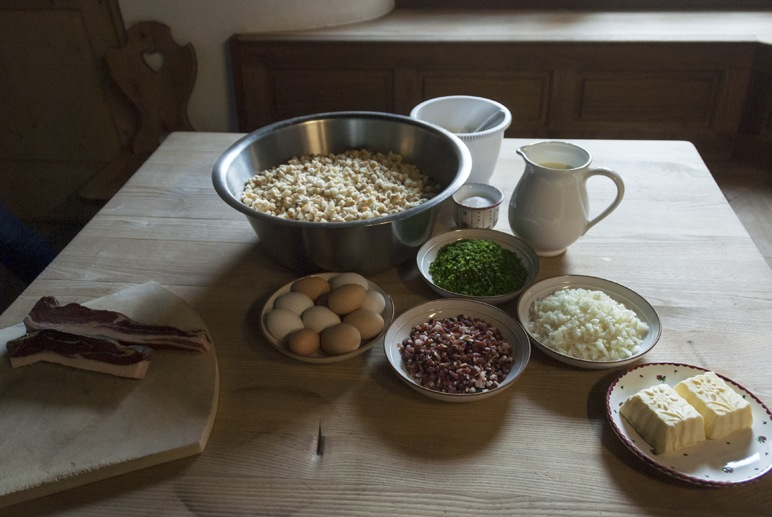 south tyrol food knoedel