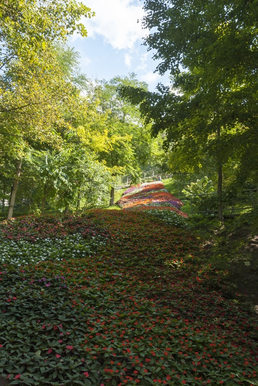 trauttmansorf castle merano flowers