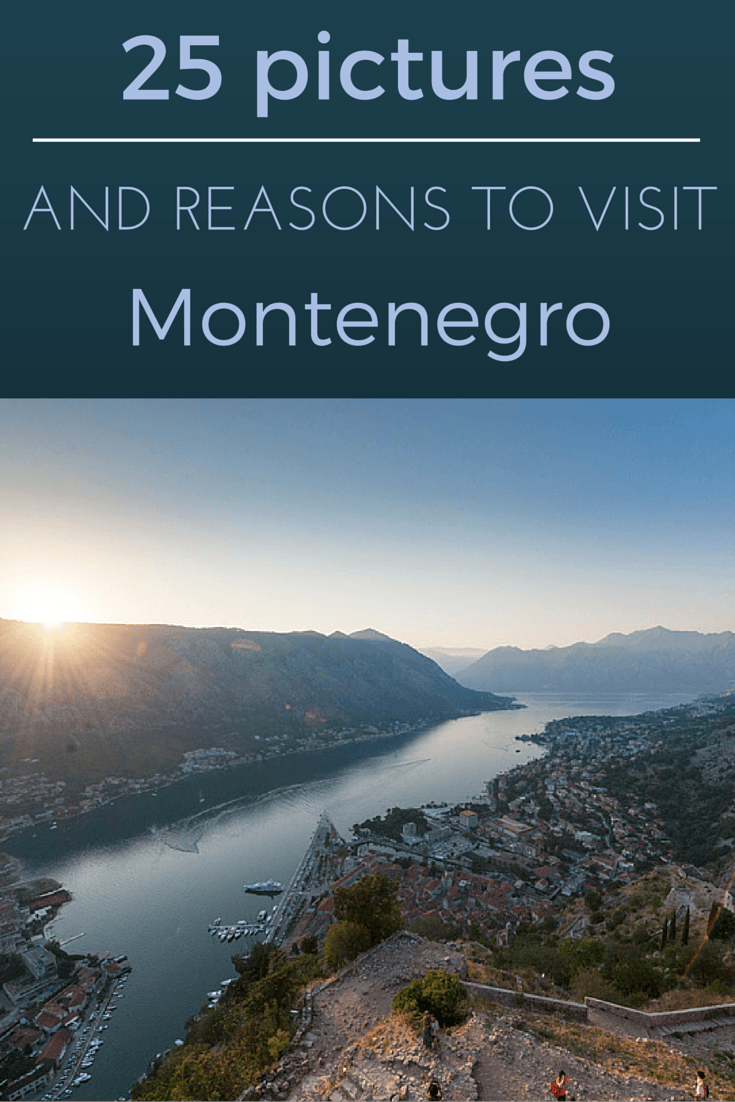 reasons to visit montenegro pin