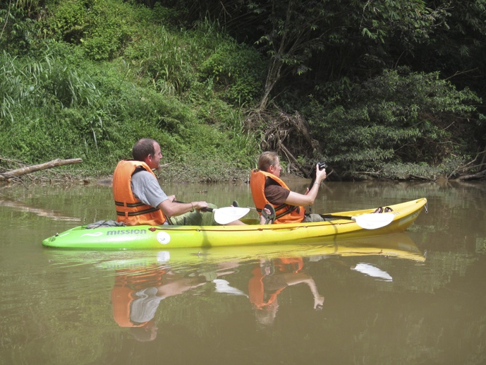 reflection kayaking sarawak