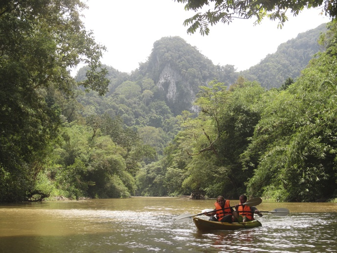 landscape semadang kayak