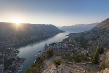 reasons to visit montenegro Kotor bay sunset