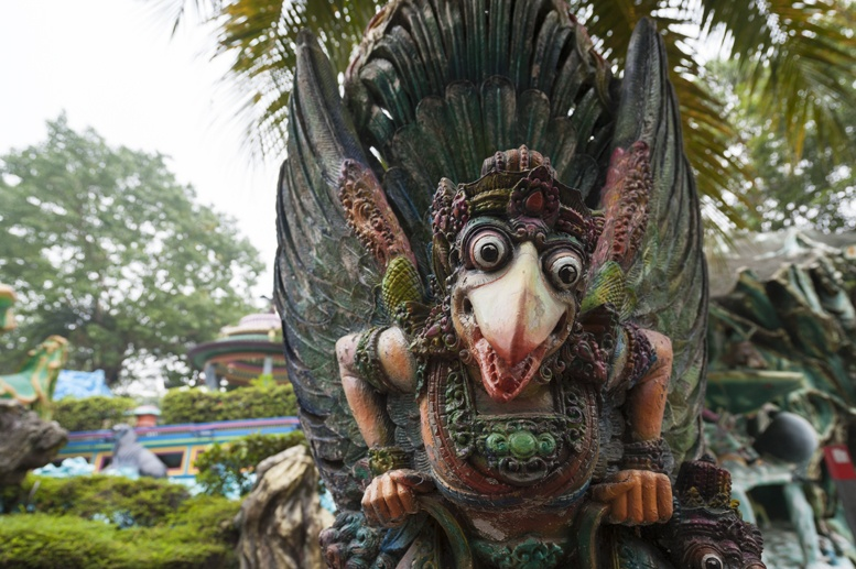haw par villa singapore winged monster