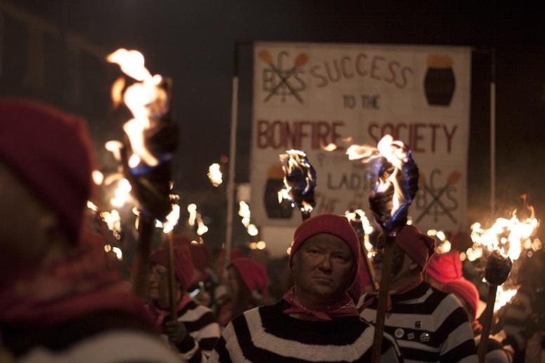 lewes bonfire night society