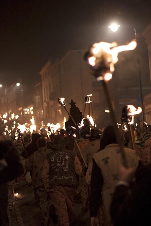 torches bonfire night uk