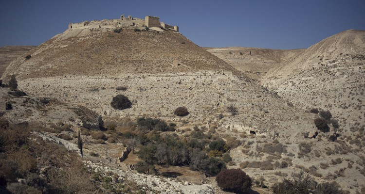 shobak hill jordan castle