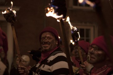 lewes bonfire night faces