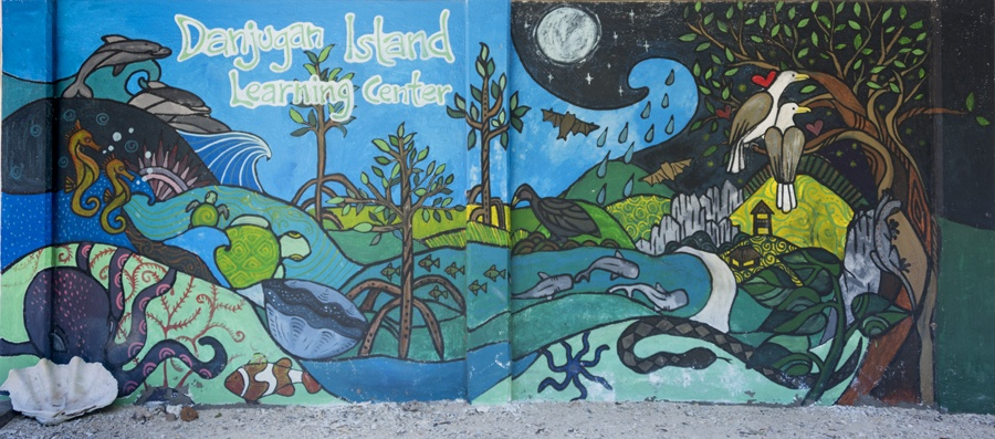 danjugan island learning center mural