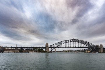 history of Australia harbour bridge