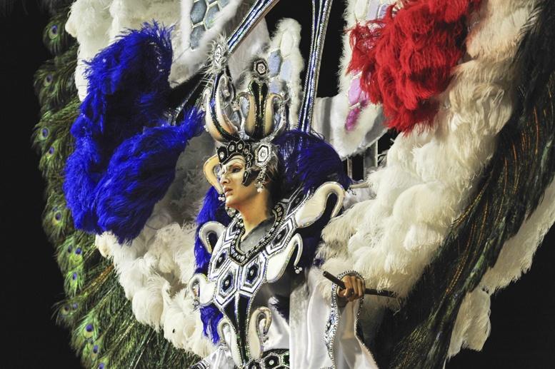 gualeguaychu carnaval blue man