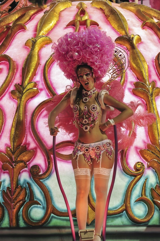 carnival gualeguaychu pink princess