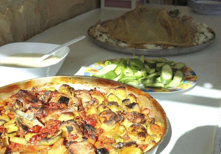 jordan food vegetables