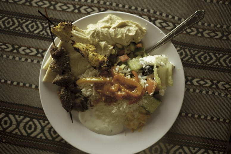jordan food plate