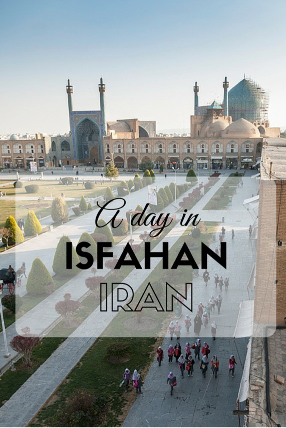 a day in isfahan pin