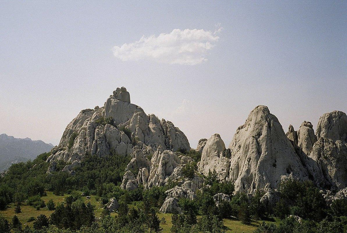 Paklenica national park croatia