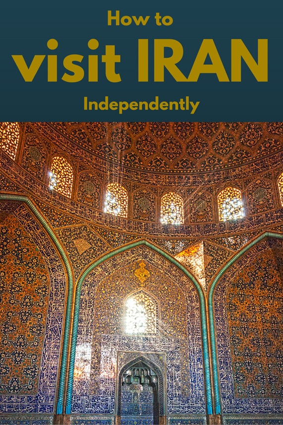 visit iran independently pin