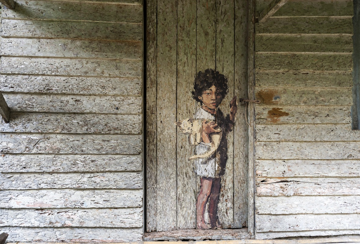 mural longhouse annah rais