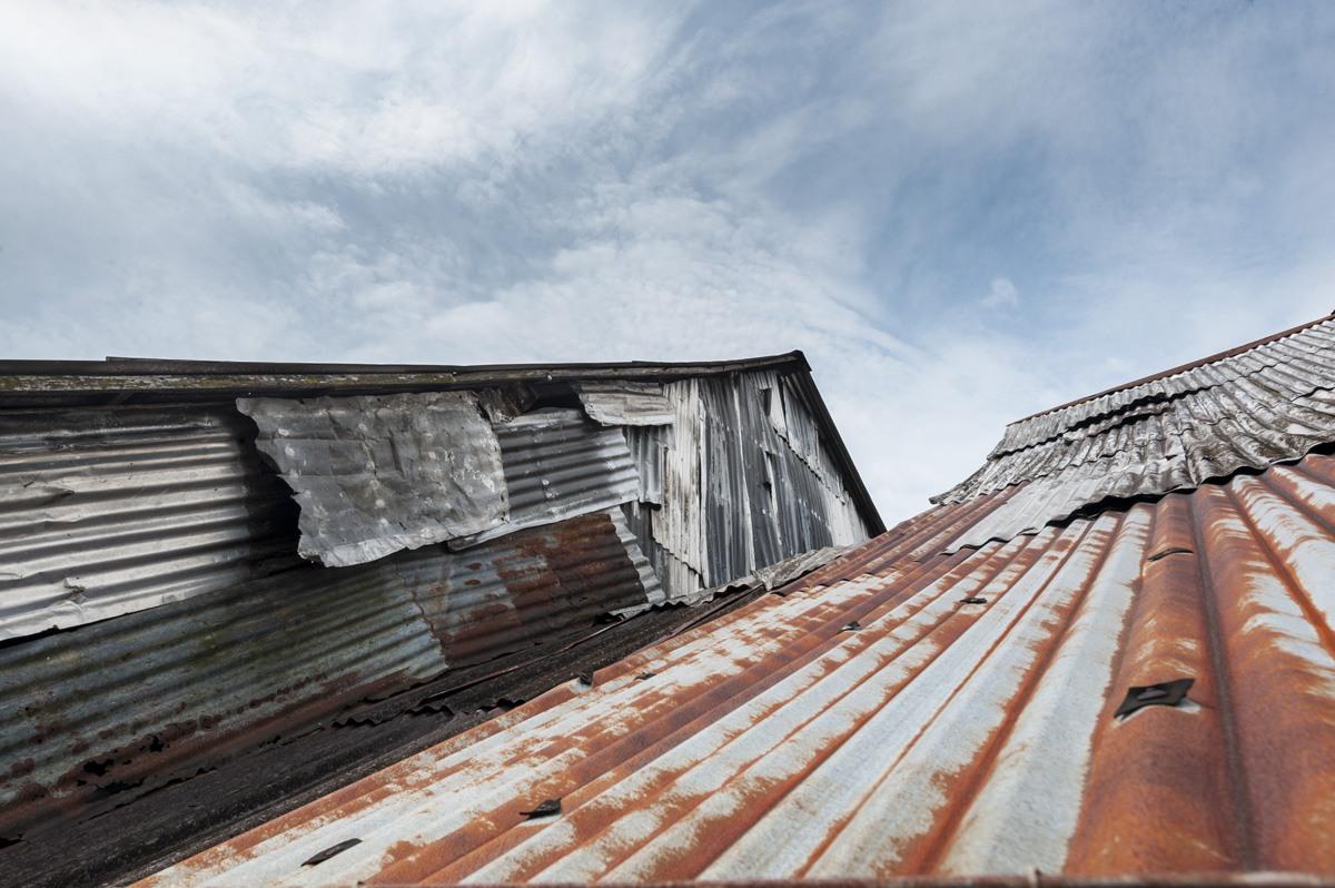 longhouses roofs annah rais sarawak