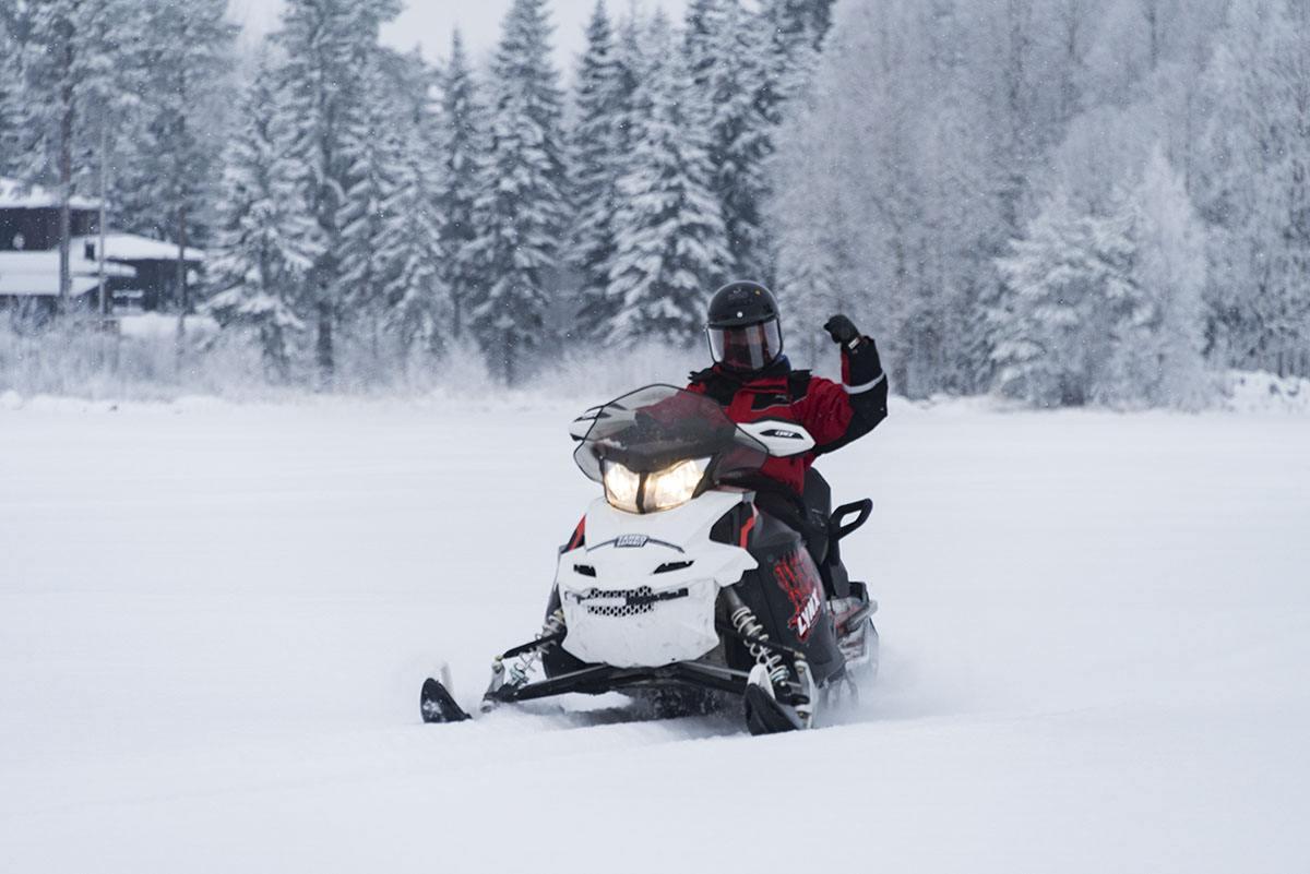 snowmobile badass finland
