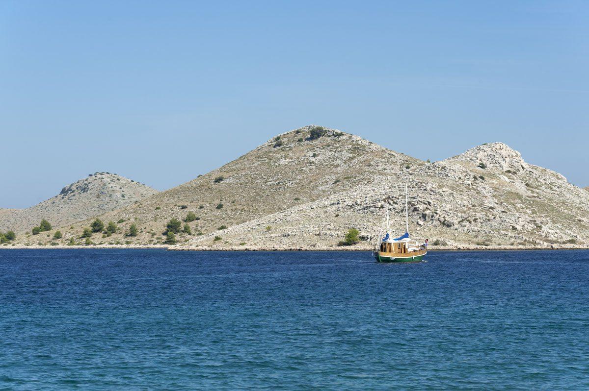 kornati islands croatia conical island