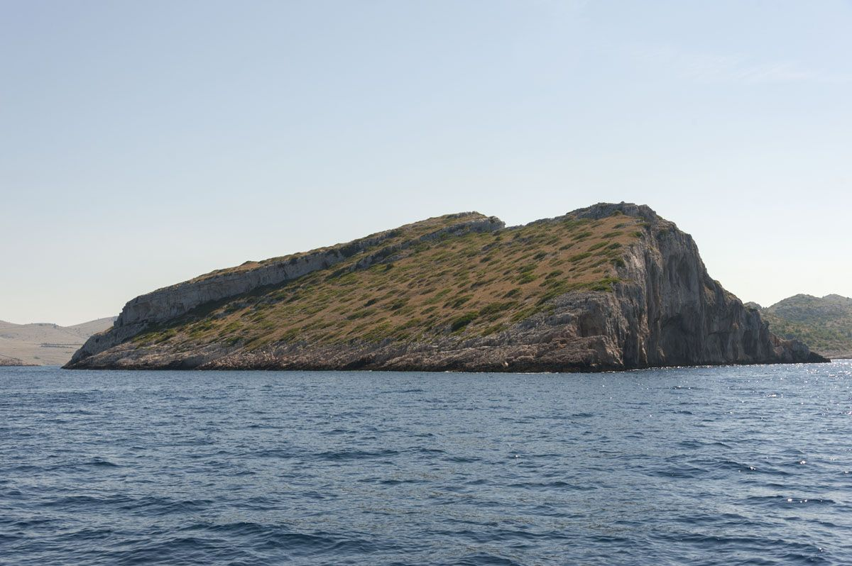 kornati islands croatia crown island