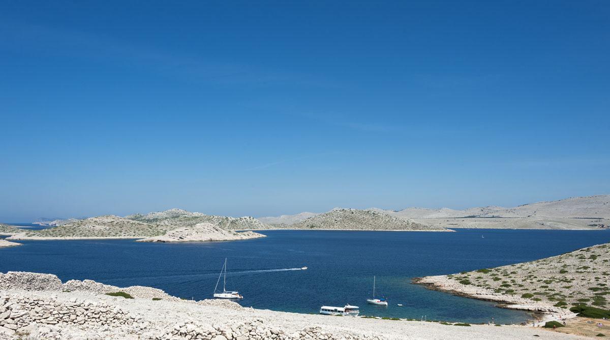 kornati islands croatia boats