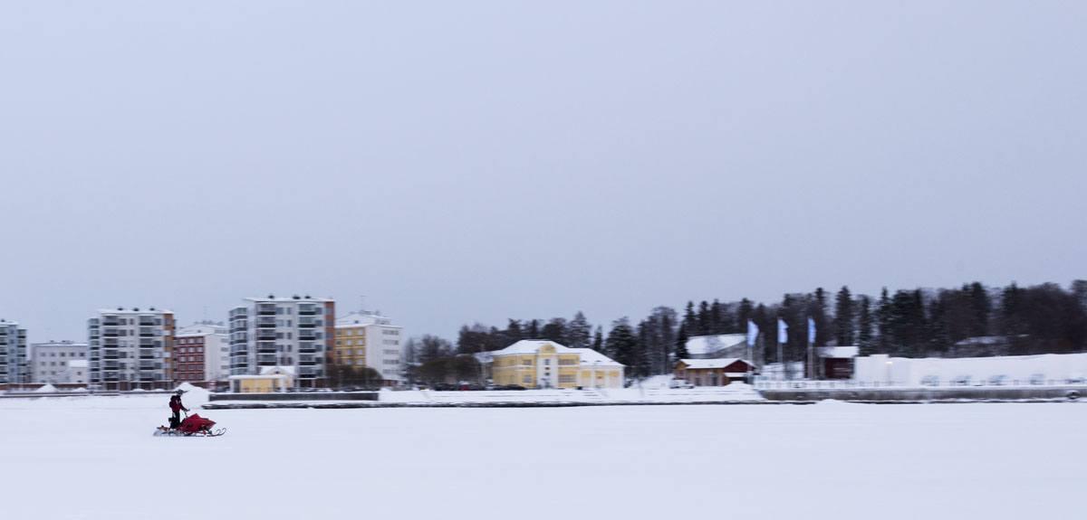 kemi snowmobile finland