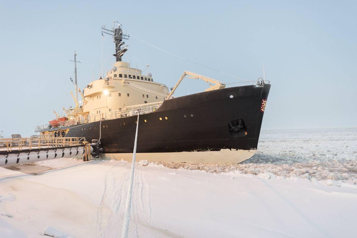 sampo icebreaker kemi finland