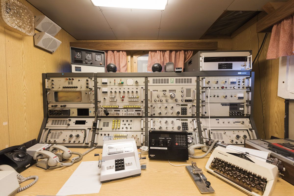 sampo icebreaker control room